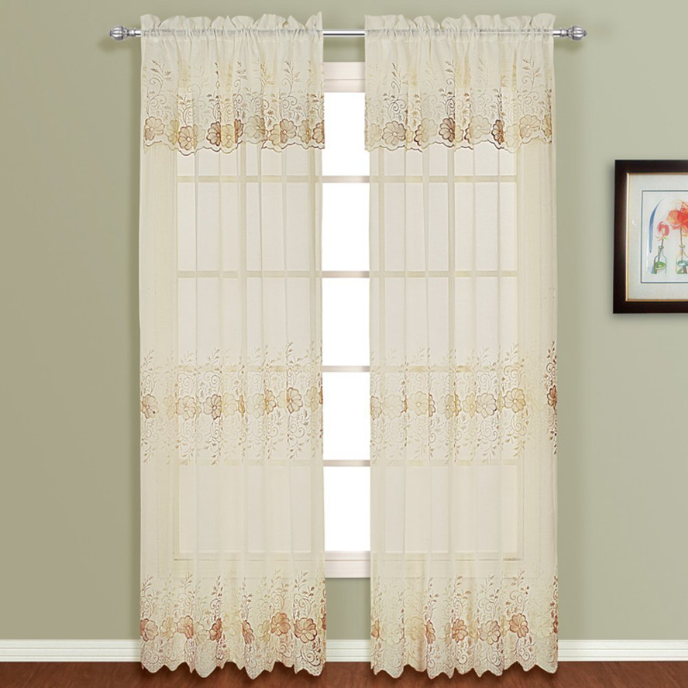 Curtain Stitching Designs | Embroidered Curtains | Anthropologie Marrakech Curtain