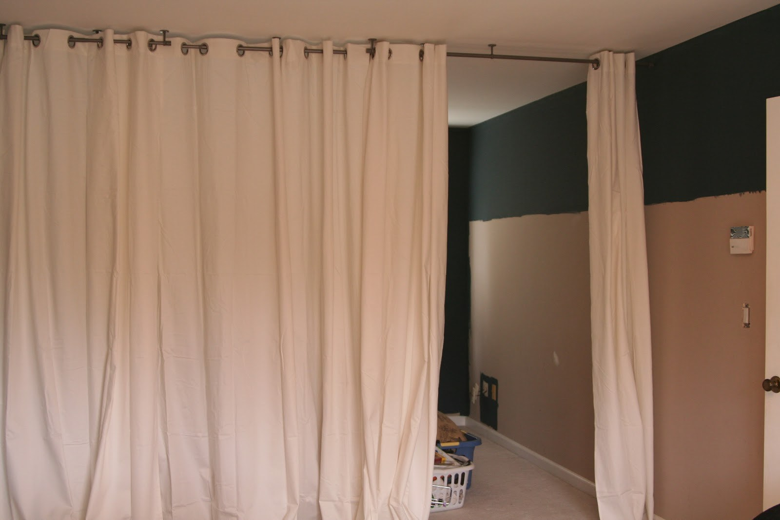 Curtains as A Room Divider | Diy Curtain Room Divider | Room Divider Curtains