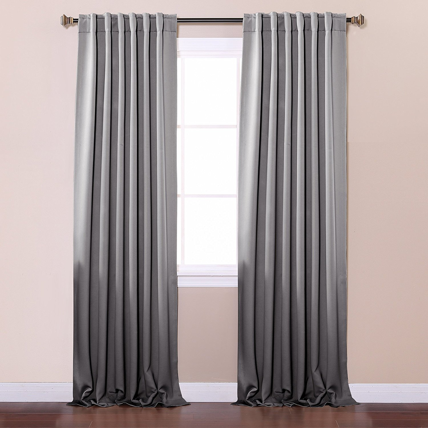 Curtains Thermal Blackout | White Darkening Curtains | Cheap Blackout Curtains