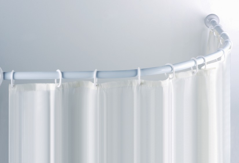 Curved Curtain Rods | Curved Curtain Rods | Bendable Curtain Rod