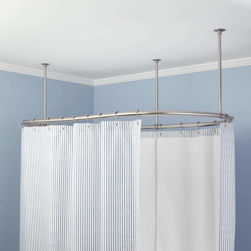 Curved Curtain Rods | Shower Curtain Curved Rod | Curved Valance Rod