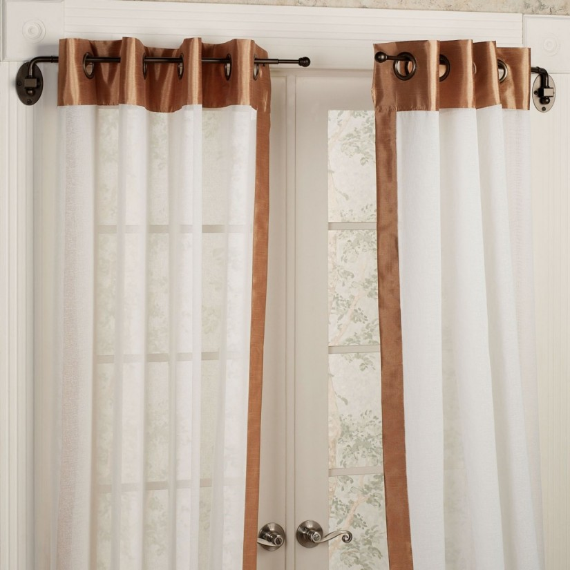 Curved Shower Curtain Rod Brushed Nickel | Curved Curtain Rods | Curved Shower Curtain Rod Walmart