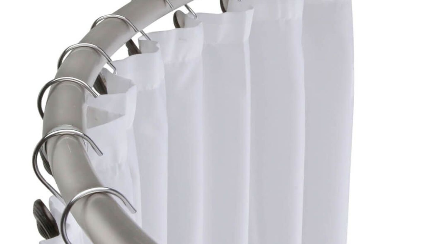 Curved Window Curtain Rods | Shower Curtain for Curved Rod | Curved Curtain Rods