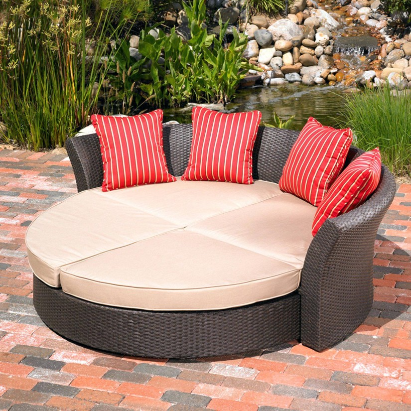 Cushions For Chaise Lounge | Sunbrella Chaise Cushions | Double Chaise Lounge Cushion