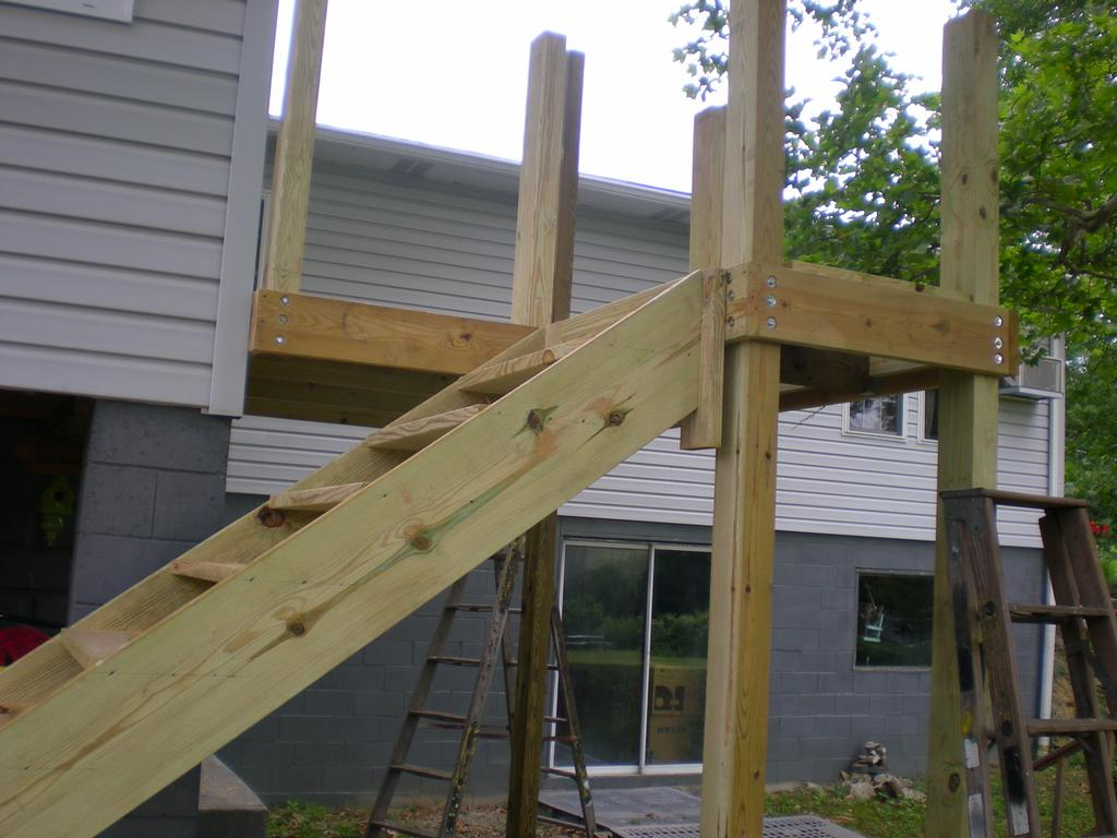 Deck Plans Stairs | Build Deck Stairs | Building Stair Treads