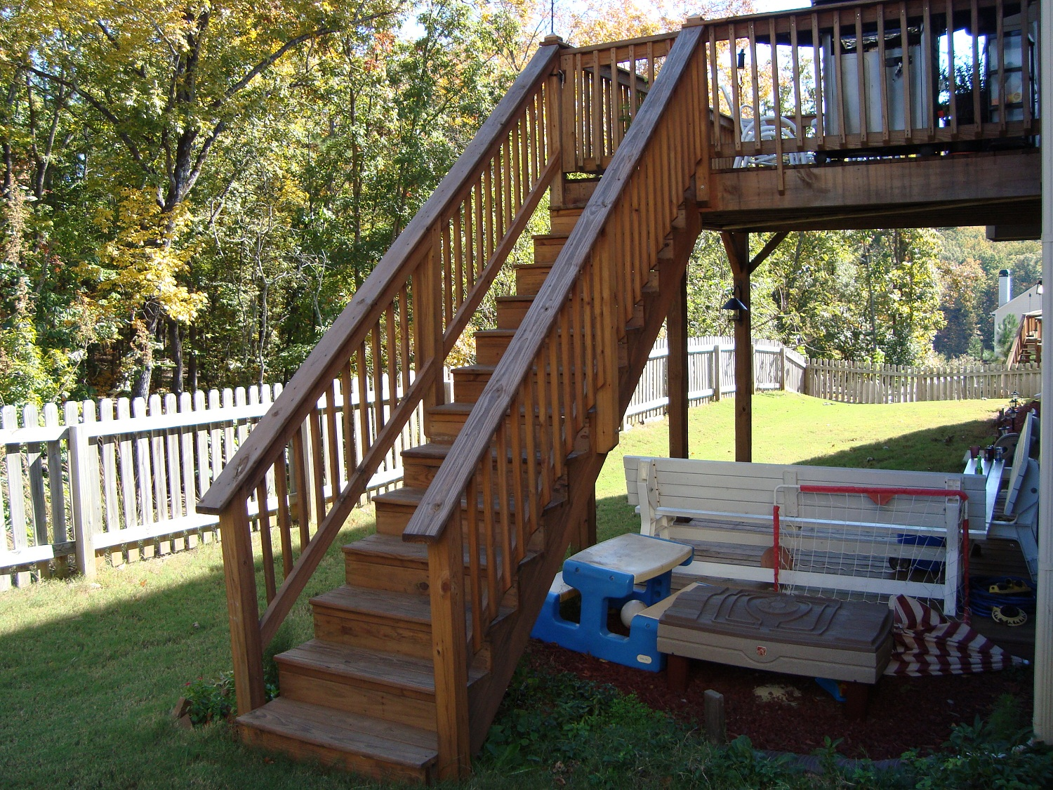 Deck Stair Brackets | How to Build Deck Steps Without Stringers | Build Deck Stairs