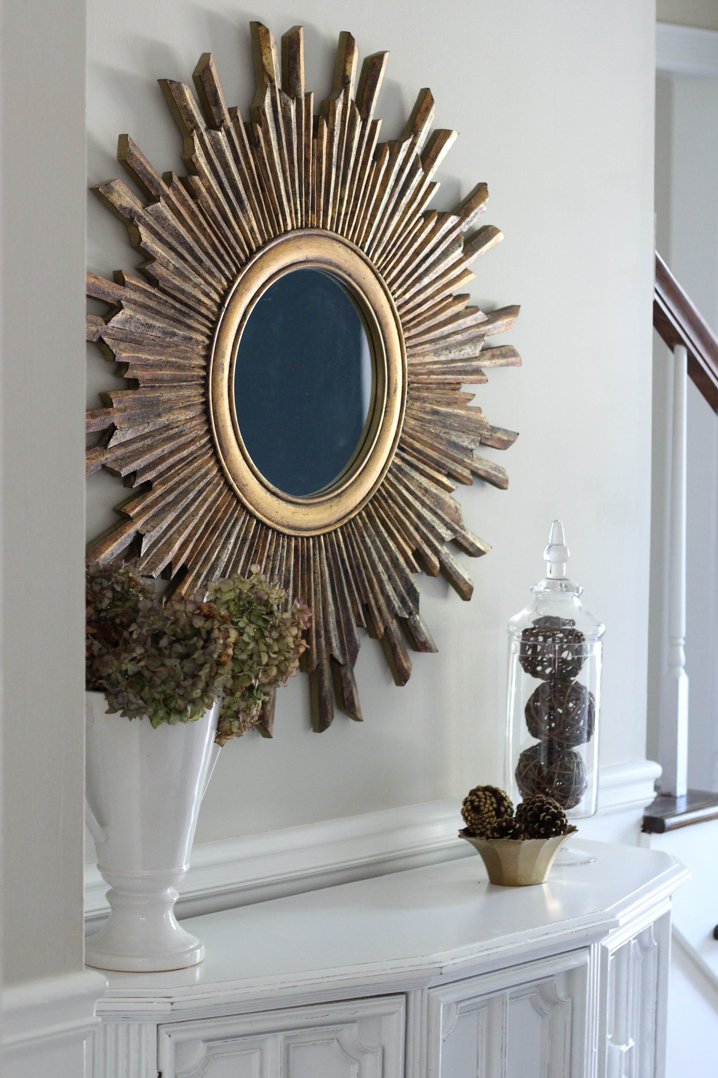 Decorating Ideas for Entryway Tables | Entryway Mirror | Table and Mirror for Entryway
