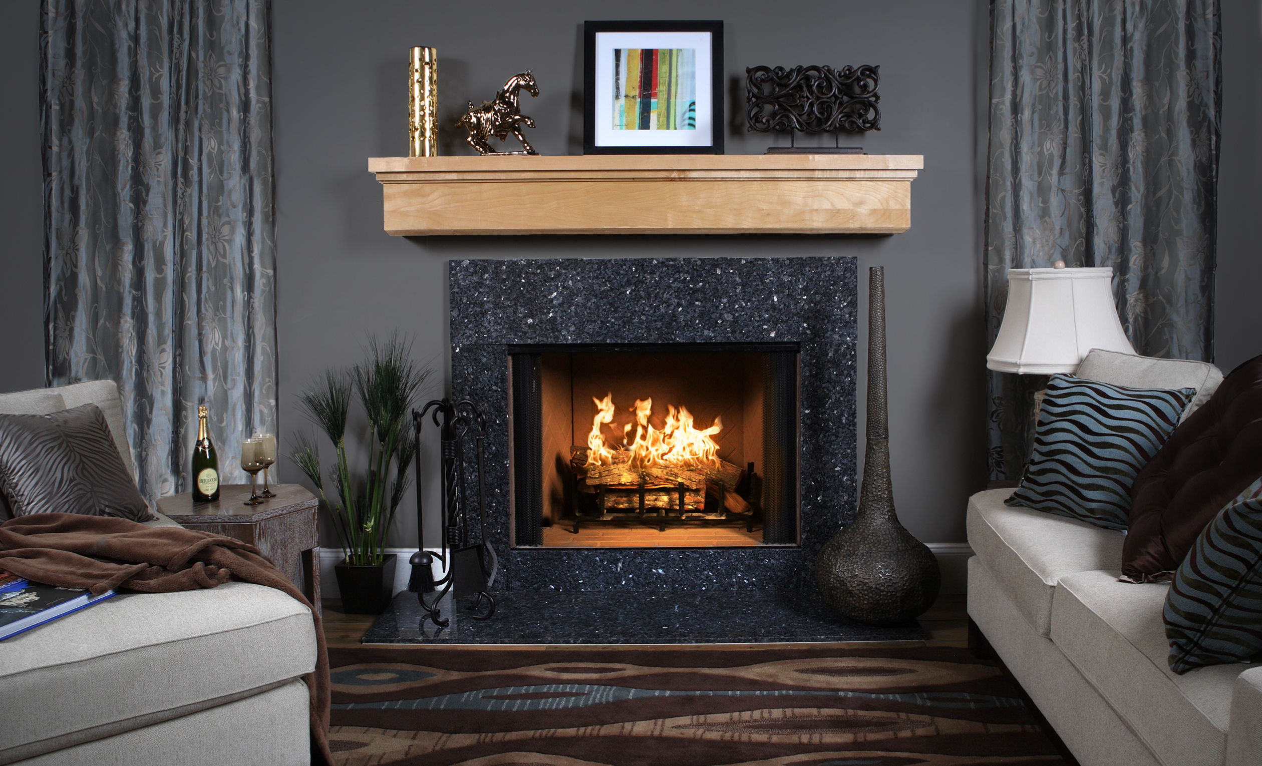 Discount Fireplace Mantels | Lowes Fireplace Mantel | Mantel Kits Home Depot