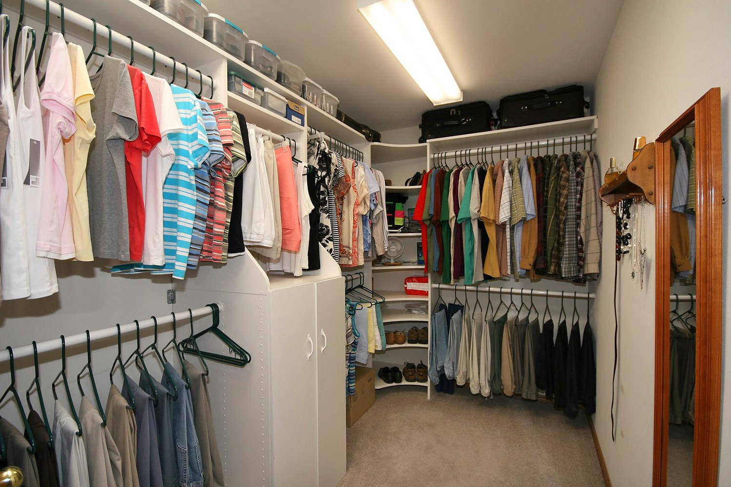 Inspiring Interior Storage Design Ideas with Diy Walk in Closet: Diy Walk In Closet | Build Closet Organizer | How To Build Your Own Closet Organizer