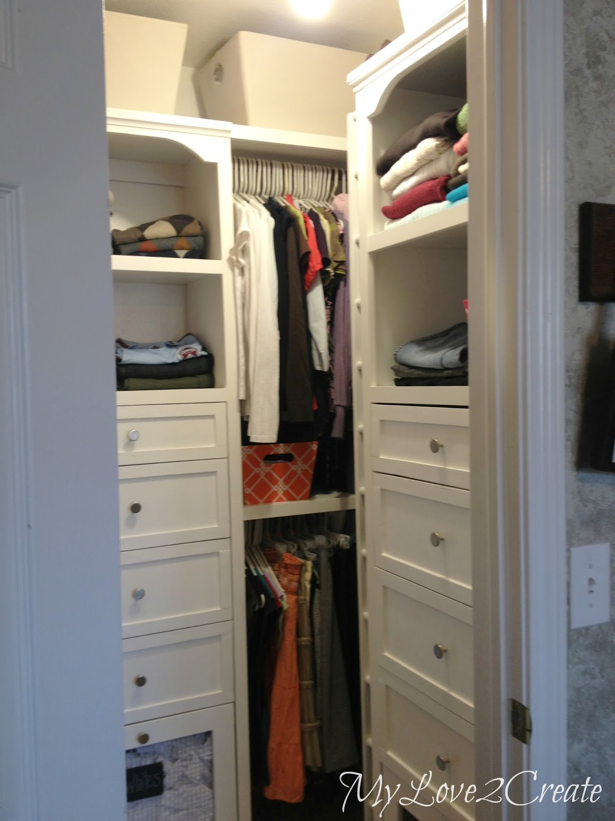 Inspiring Interior Storage Design Ideas with Diy Walk in Closet: Diy Walk In Closet | Closet Shelving Ideas Diy | Walk In Closet Organizer