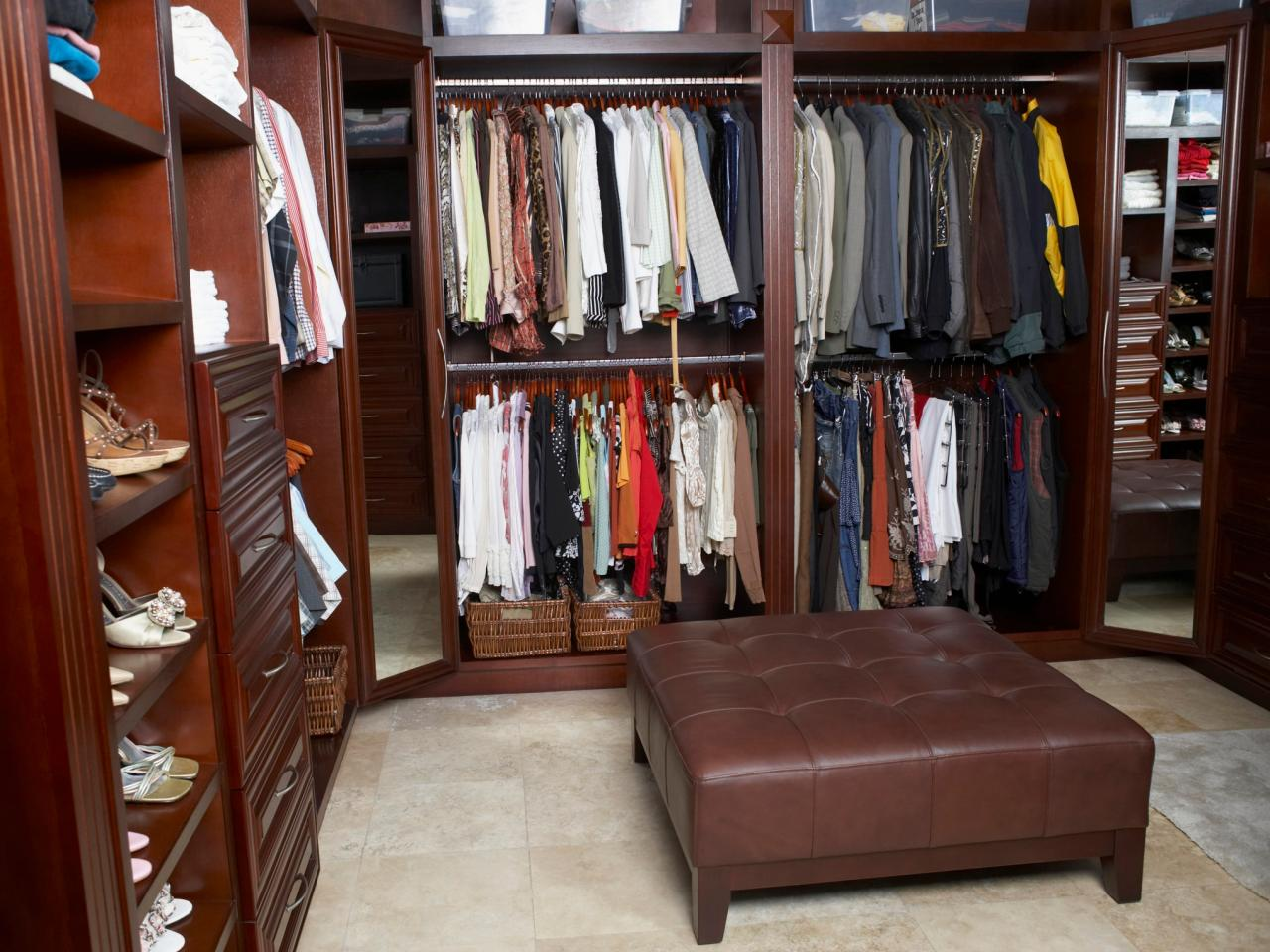 Diy Walk In Closet | Custom Closet Systems | Closet Organizers Do It Yourself