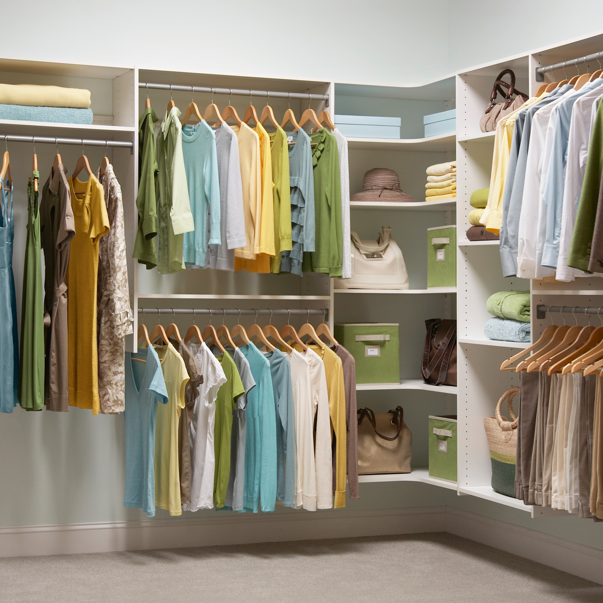 Diy Walk In Closet | Inexpensive Closet Systems | Unique Closet Ideas