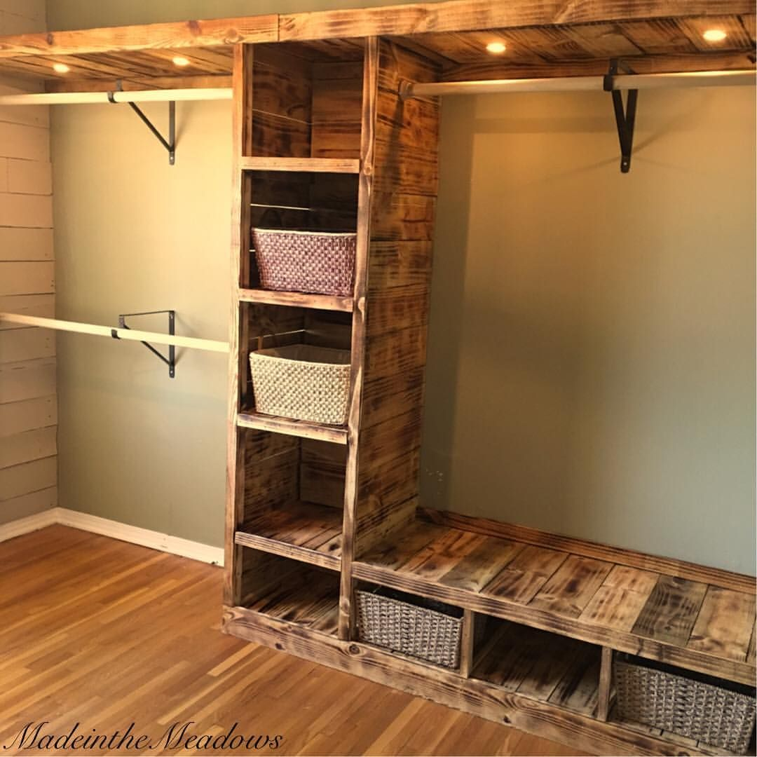 Diy Walk In Closet | Unique Closet Ideas | Small Walk In Closets