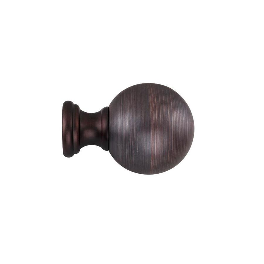 Double Shower Curtain Rod Oil Rubbed Bronze | Leaf Curtain Rods | Bronze Curtain Rods