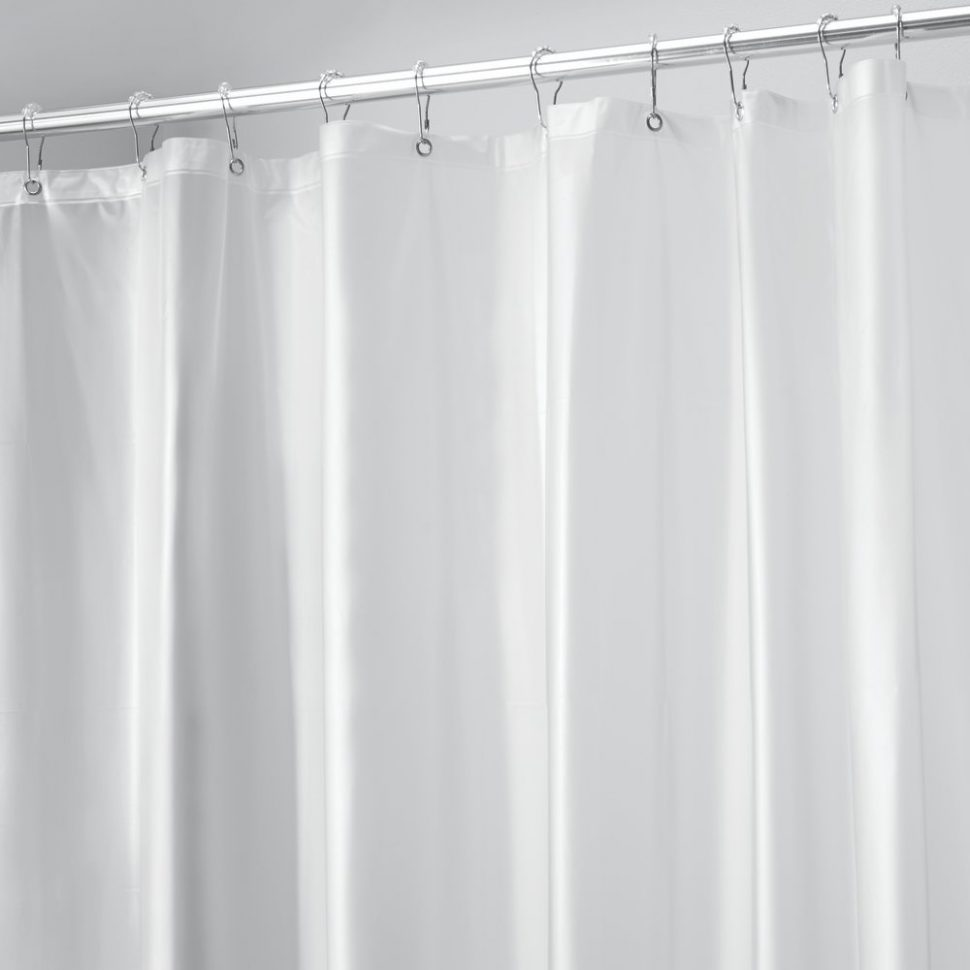 Dual Shower Curtain Rod | Bathroom Shower Curtain Rods | Shower Curtain Tension Rod