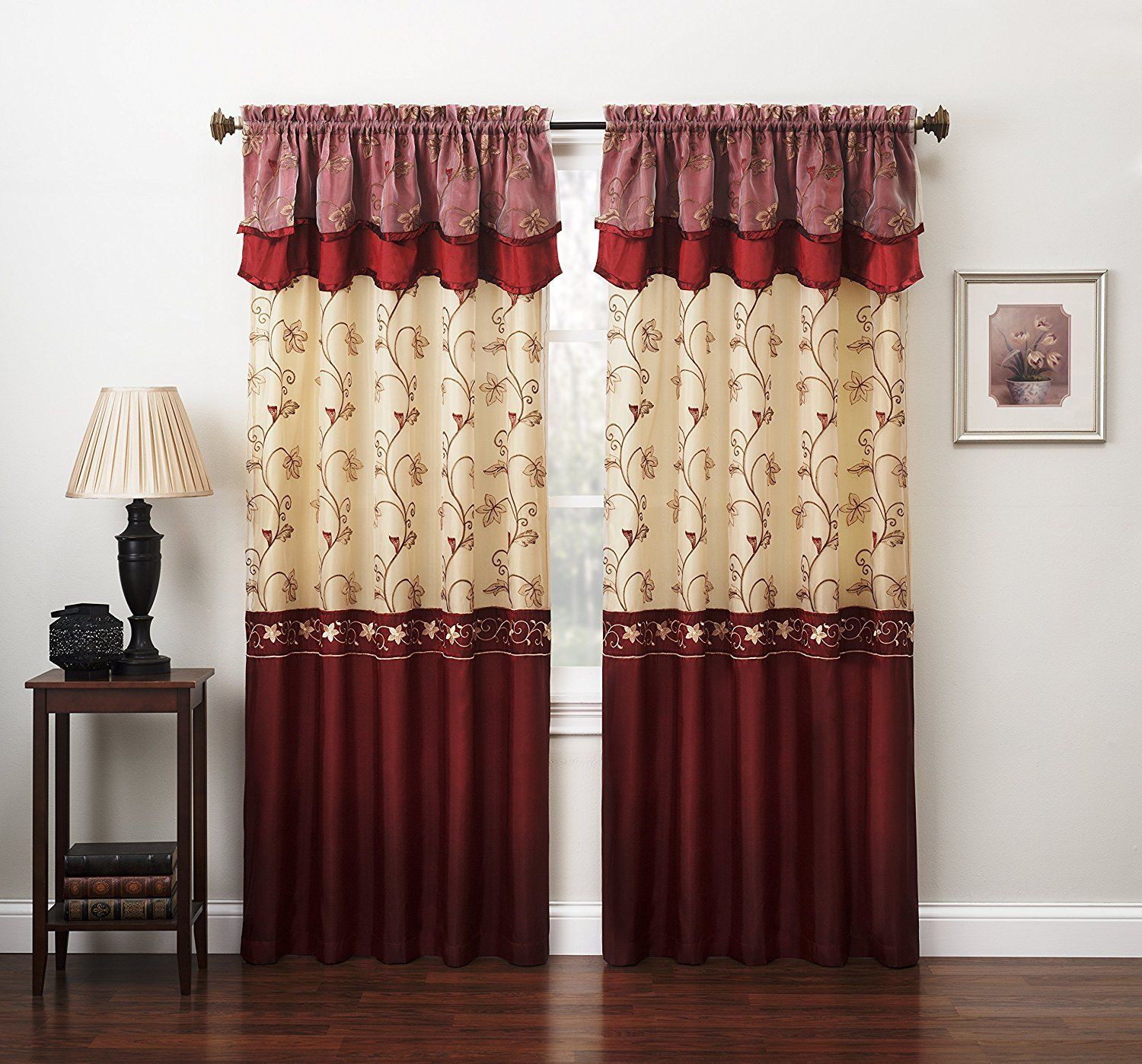 Embroidered Curtains | Crewel Embroidered Curtains | Pom Pom Drapes