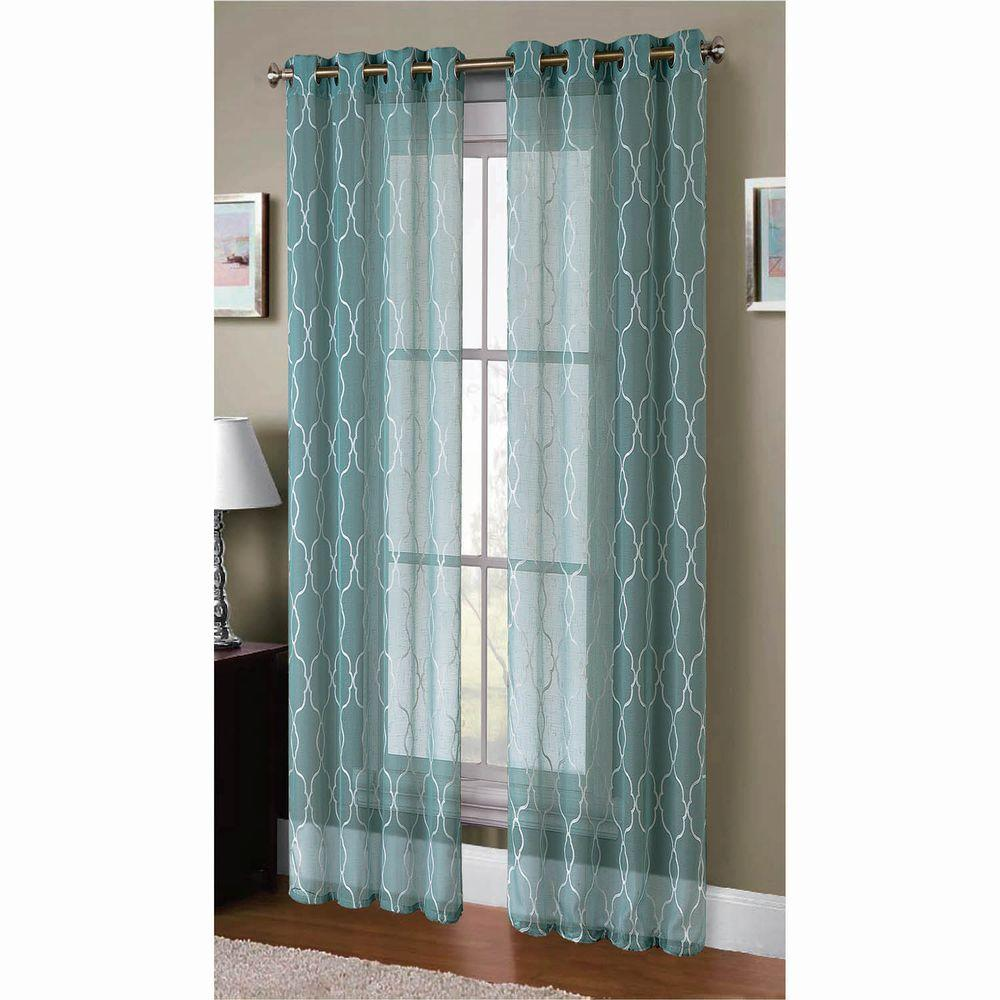 Embroidered Curtains | Crewel Fabric Sale | Bohemian Window Treatments