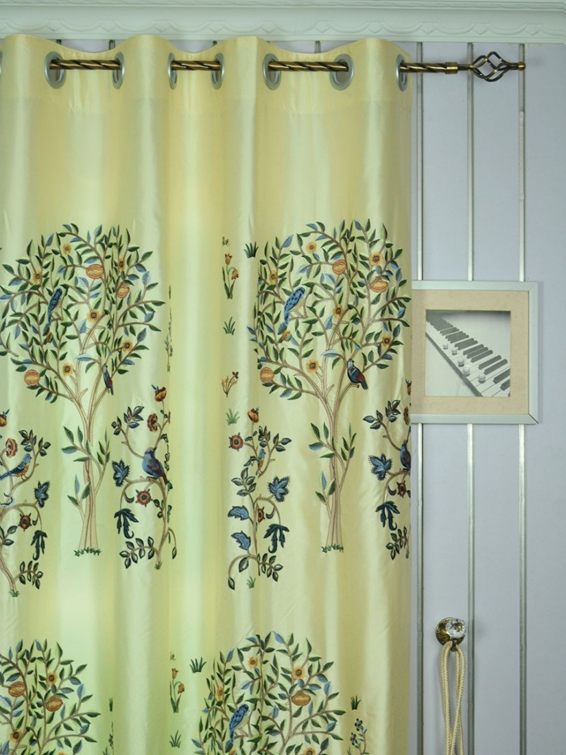 Embroidered Curtains | Embroidered Sheers | Macrame Drapes