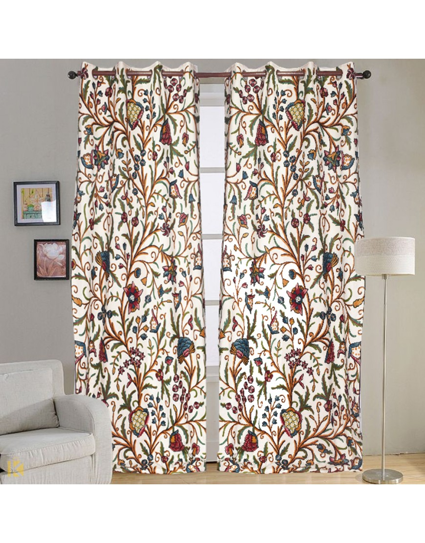 Embroidered Curtains | Funky Curtains and Drapes | Embroidered Voile Curtains