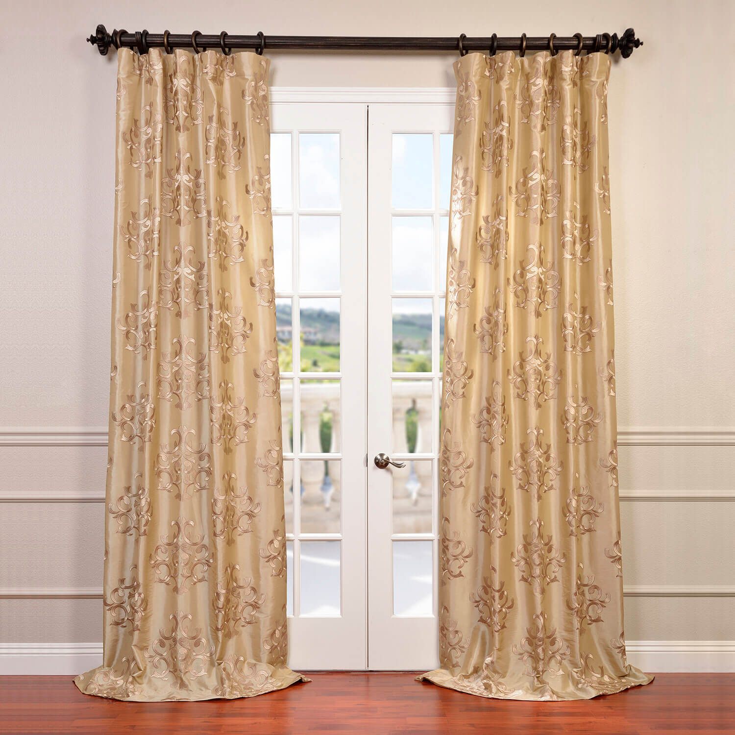 Embroidered Curtains | Macrame Drapes | Embroidered Shower Curtains