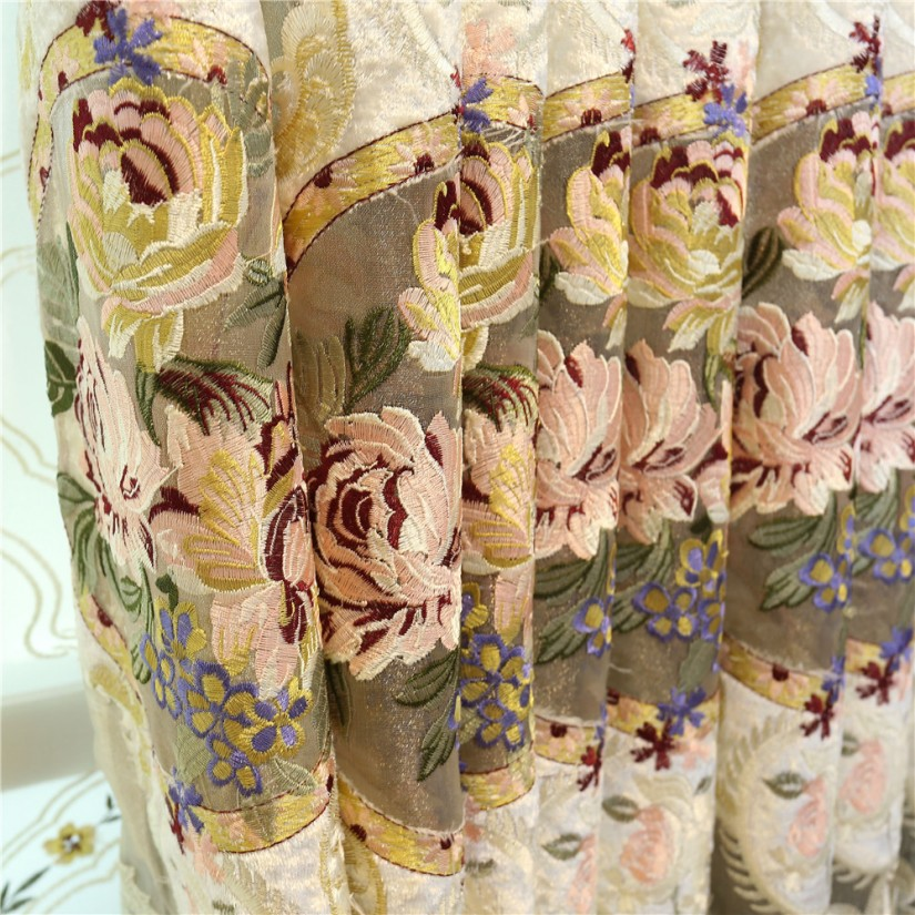 Embroidered Curtains | Pink Velvet Drapes | Anthropologie Marrakech Curtain