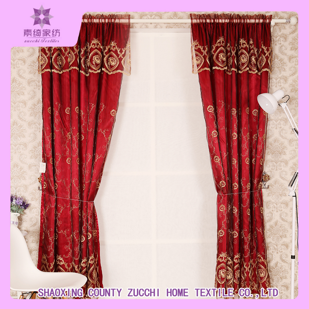 Embroidered Curtains | White and Coral Curtains | Better Homes and Gardens Embroidered Sheer Curtain Panel