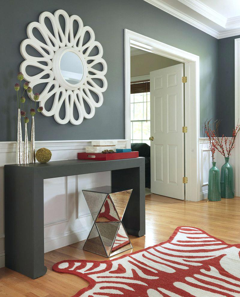 Entryway Console and Mirror | Entryway Bench with Mirror | Entryway Mirror