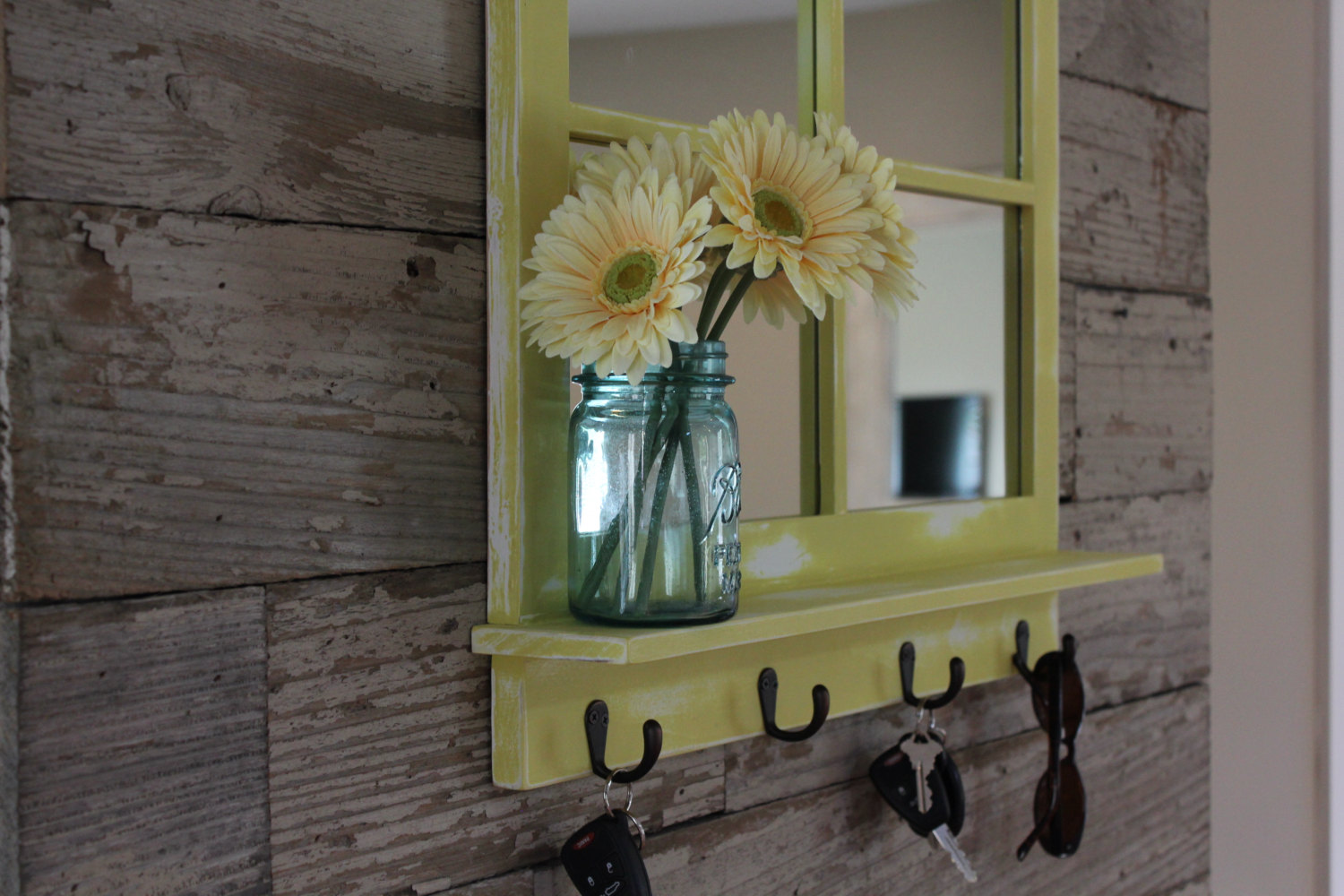 Entryway Mirror | Accent Table For Foyer | Foyer Table Lamps