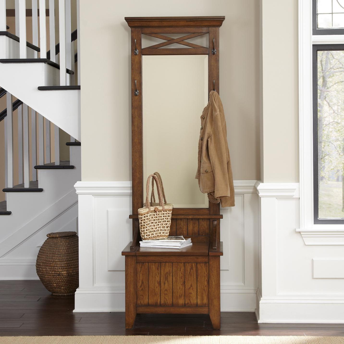 Entryway Mirror | Entranceway Decor | Entryway Table Lamps