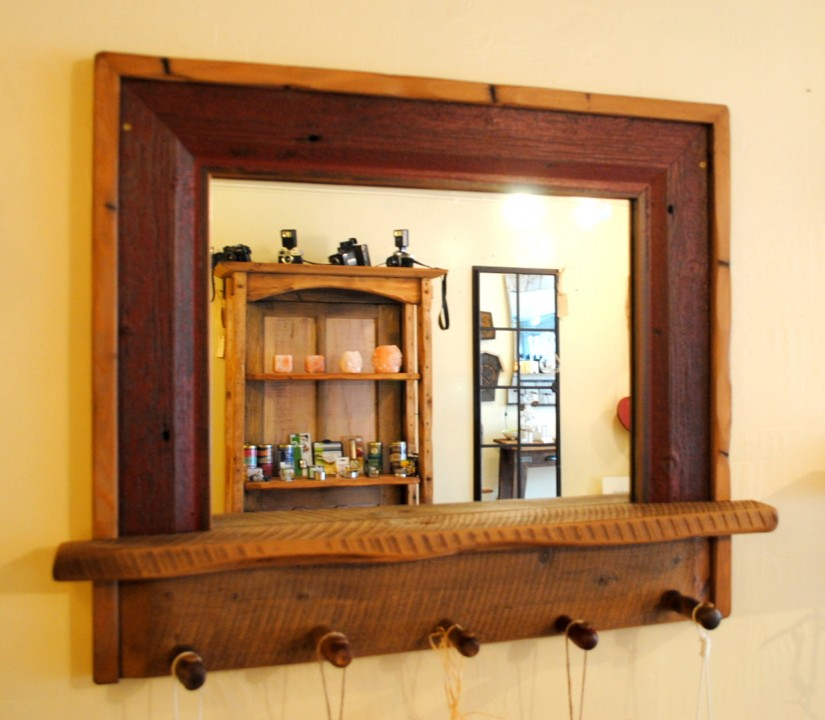 Entryway Mirror | Kirklands Tables | Pottery Barn Mirror With Hooks