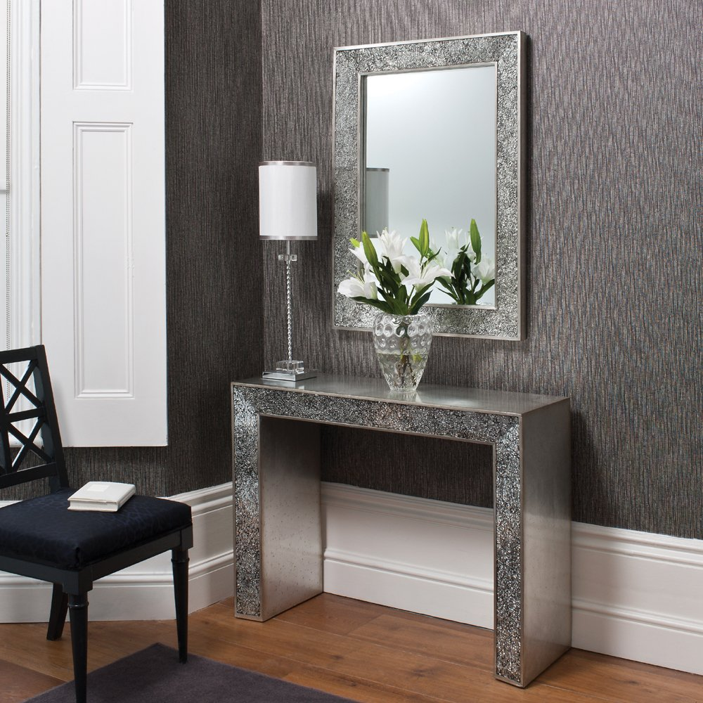 Entryway Mirror | Mirror With Coat Hooks | Foyer Furniture Sets
