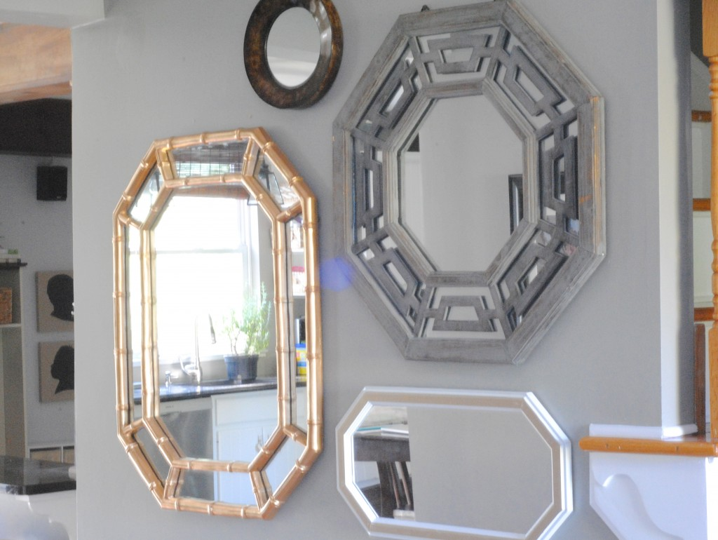 Entryway Round Table | Entryway Mirror | Entryway Mirror And Table