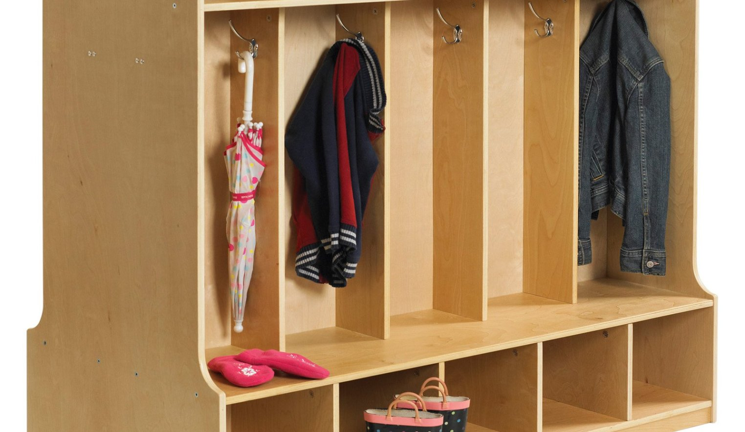 Entryway Storage Bench with Coat Rack | Bench with Shoe Storage and Coat Rack | Entryway Storage Bench and Coat Rack
