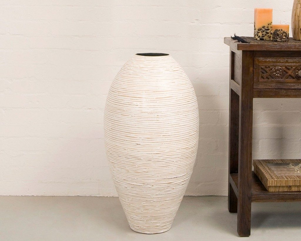 Extra Large Floor Vases | Tall White Floor Vases | Large Tall Floor Vases