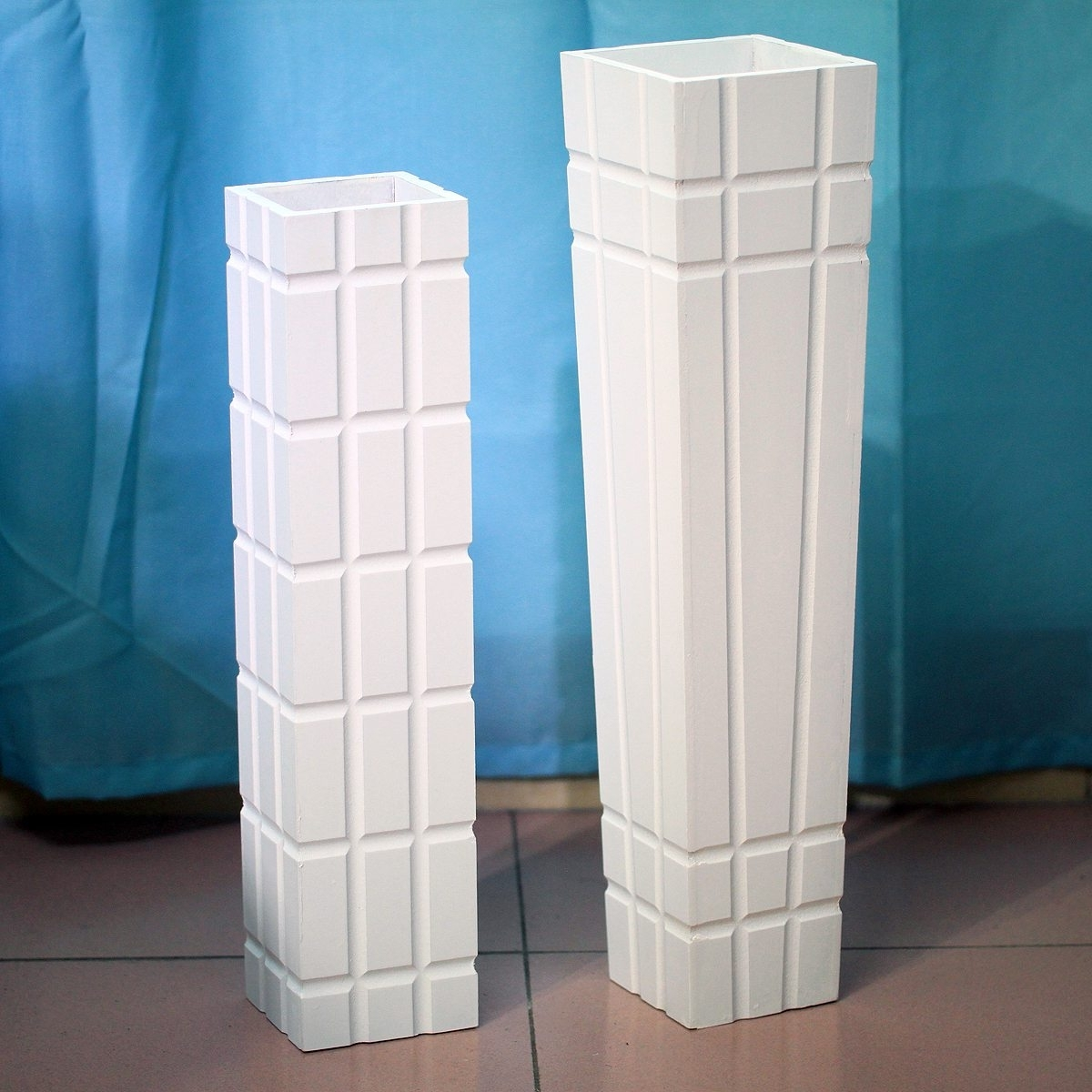 Extra Large Floor Vases | White Ceramic Floor Vase | Large Glass Floor Vase