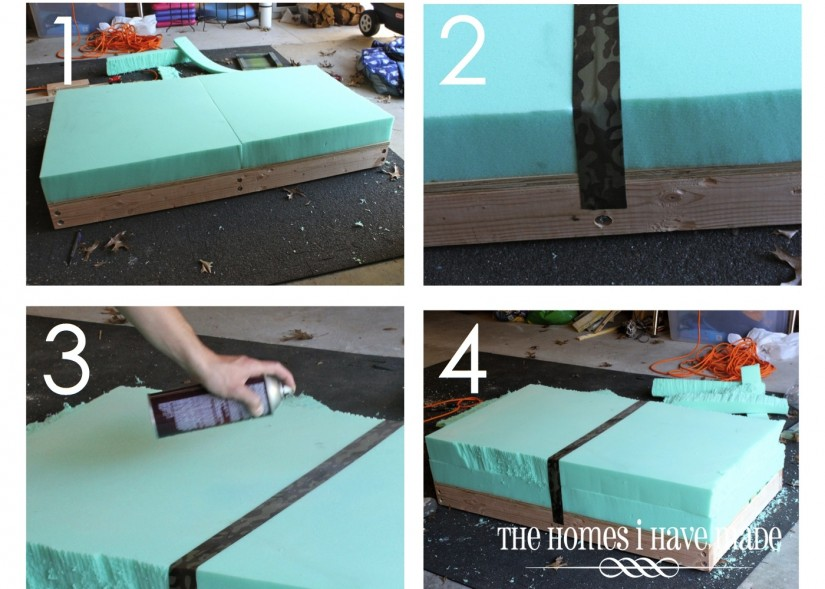 Extra Large Ottoman | Extra Large Ottoman Tray | Large Square Ottoman With Storage