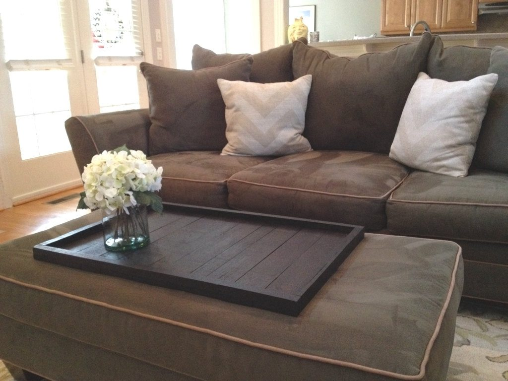 Extra Large Ottoman | Large Leather Ottoman With Storage | Large Leather Ottomans