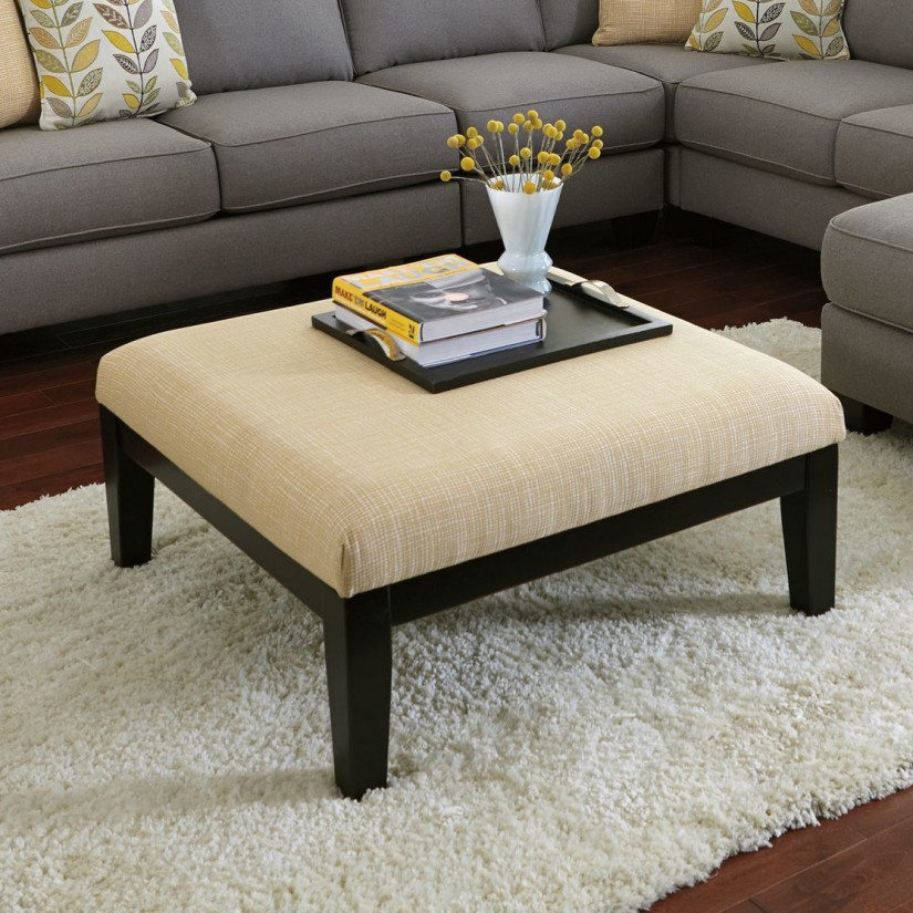 Extra Large Ottoman Slipcover | Ottoman Coffee Tables | Extra Large Ottoman