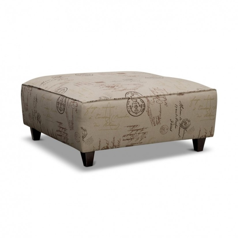Extra Large Ottoman | Square Coffee Table With Ottomans | Large Square Ottoman Coffee Table