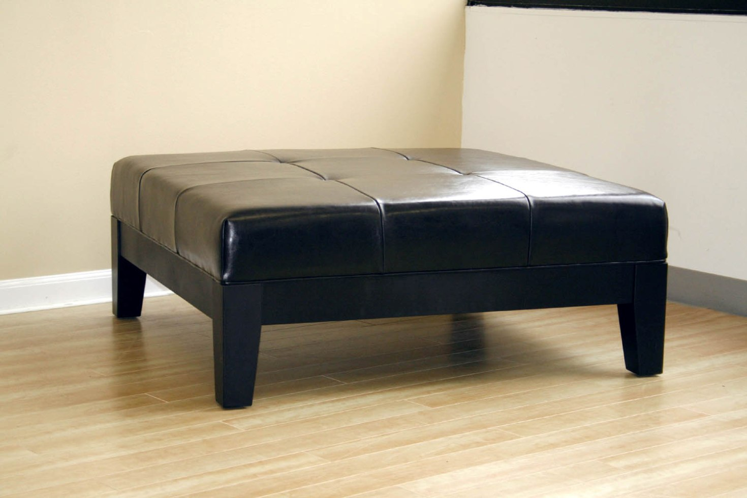 Extra Large Ottoman for Large Space Living Room Design: Extra Long Ottoman | Extra Large Ottoman | Cloth Ottoman Coffee Table