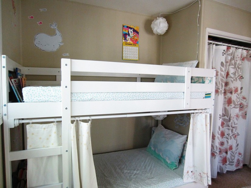 Fire Truck Loft Bed Curtain | Bunk Bed Curtains | Bunk Bed Canopy Tent