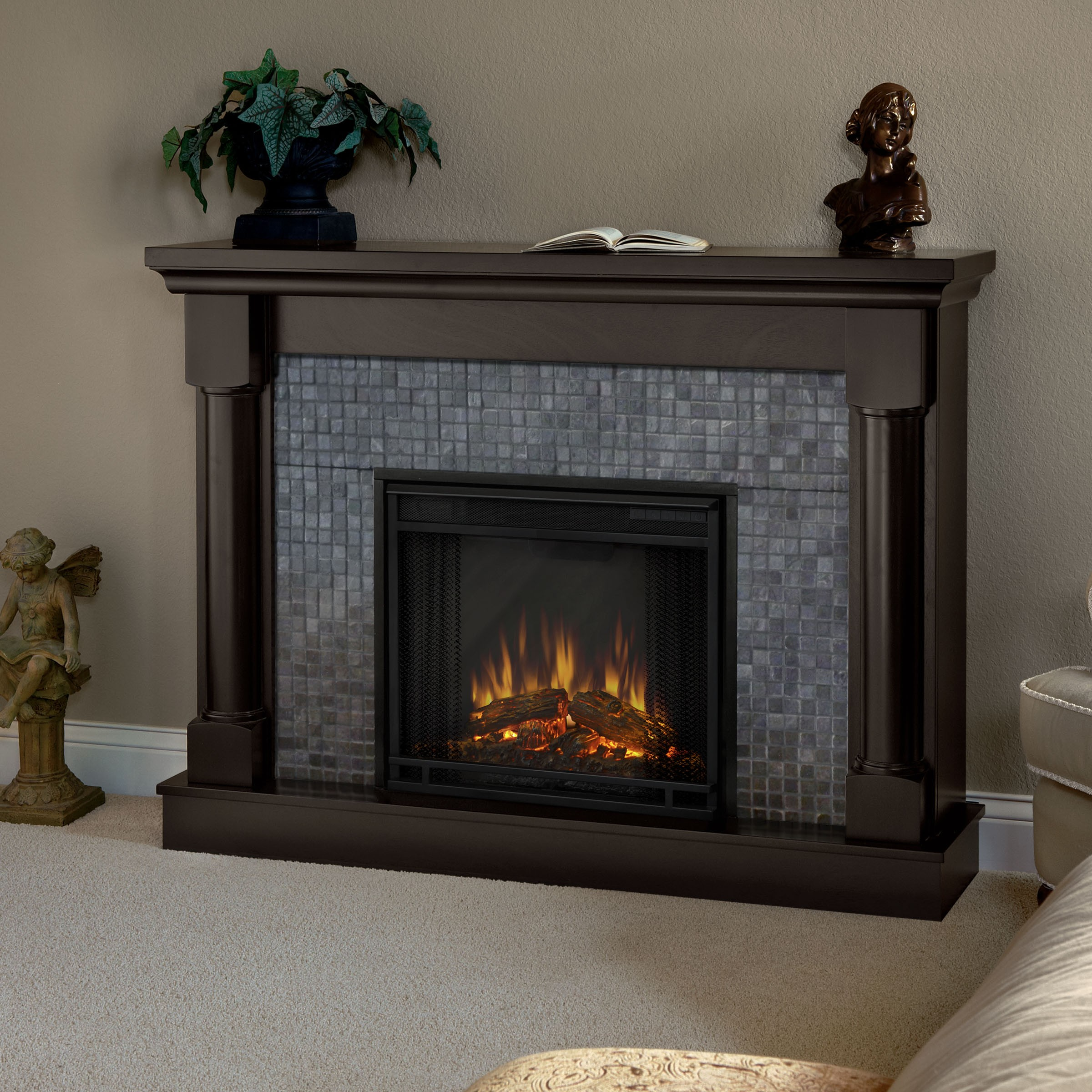 Fireplace Surround Kit | Lowes Fireplace Mantel | Fireplace Kits Lowes