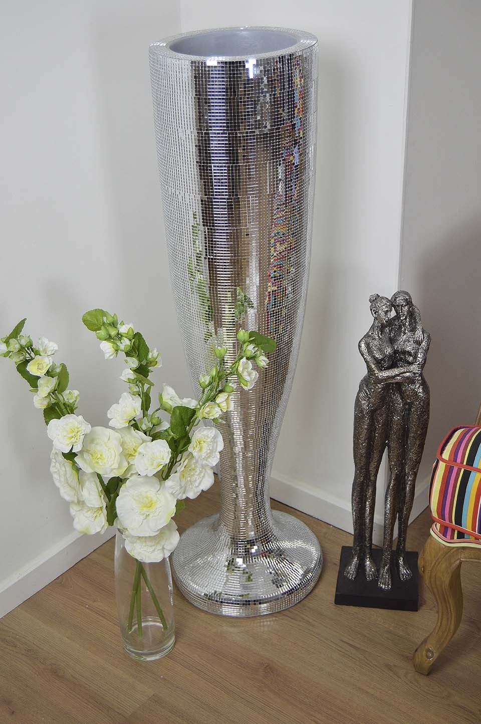 Floor Vases for Sale | Tall Turquoise Floor Vase | Extra Large Floor Vases
