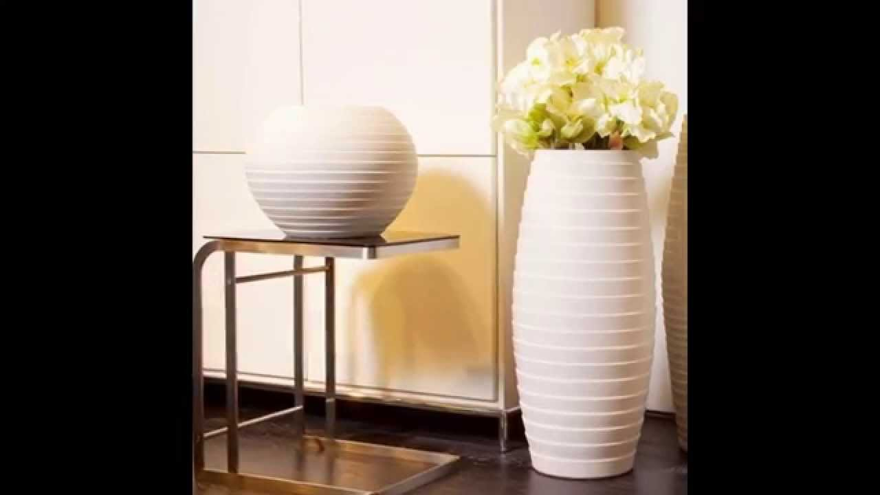 Floor Vases Tall | White Ceramic Floor Vase | Extra Large Floor Vases
