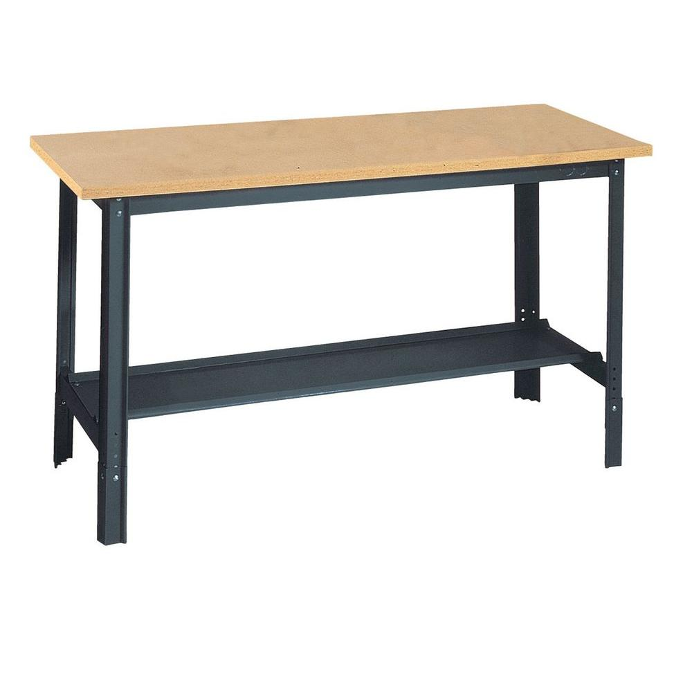Fold Down Wall Bench | Bench Solution Workbench | Wall Mounted Folding Workbench