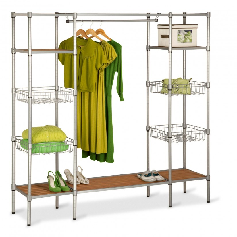 Free Standing Closet Wardrobe | Armoires For Hanging Clothes | Coat Closets Free Standing
