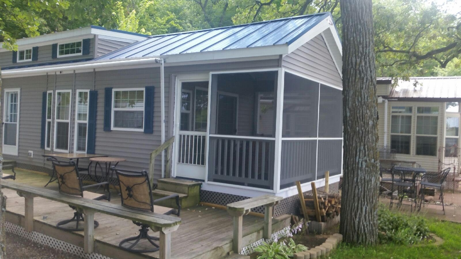 Front Porch for Mobile Home | Decks with Roofs Pictures | Mobile Home Porches