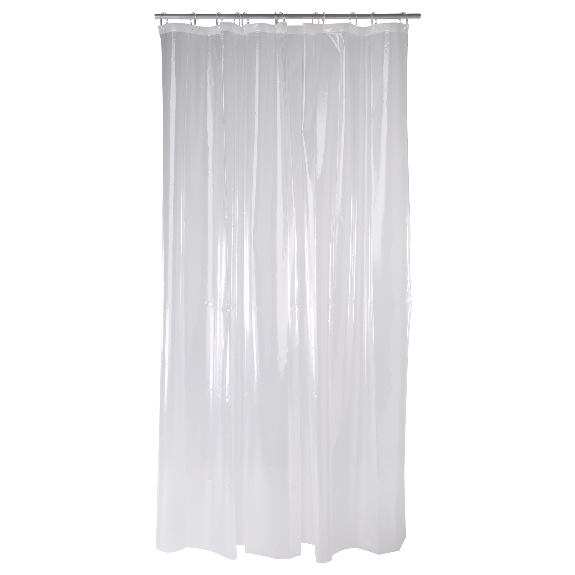 Frosted Shower Curtain | Bathroom Curtain Rods | Ikea Shower Curtain
