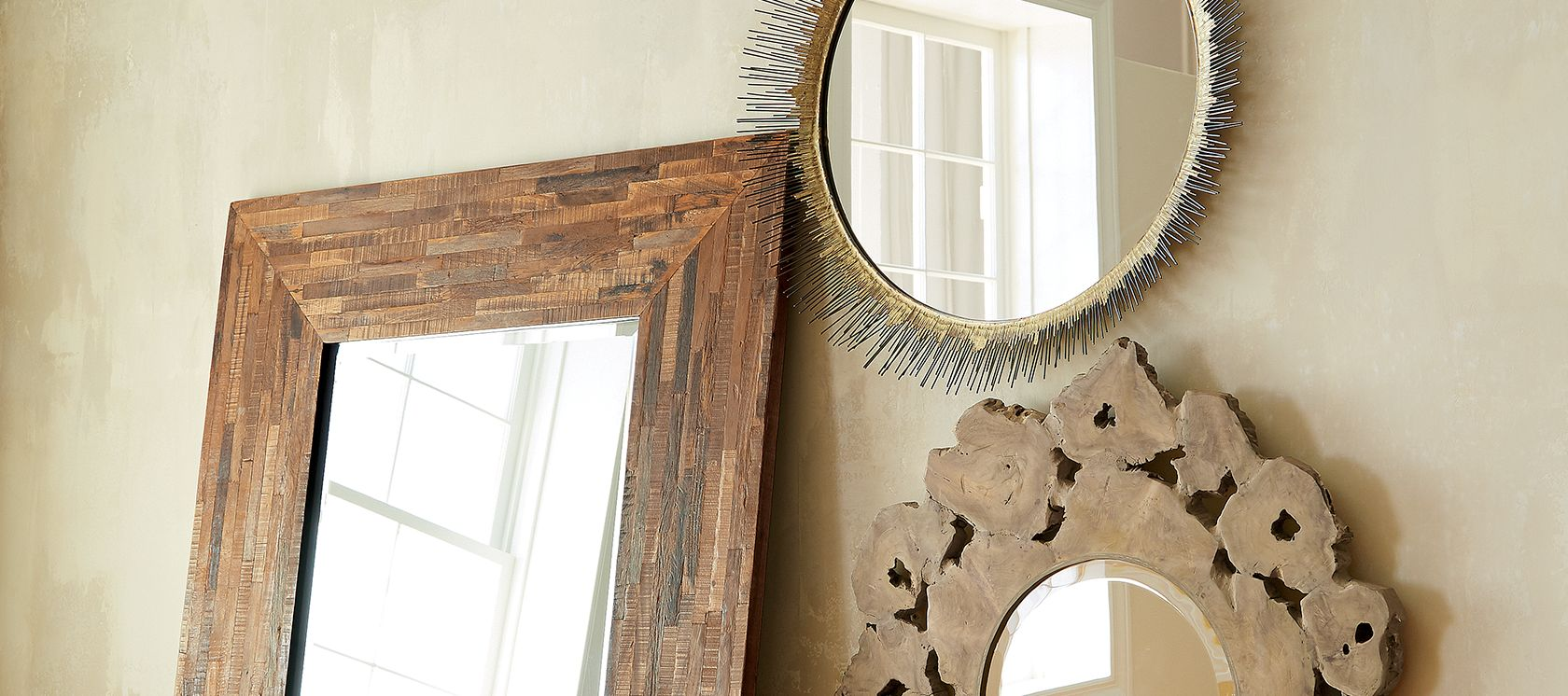 Full Length Decorative Mirror | Crate And Barrel Mirrors | Mirror With Ledge
