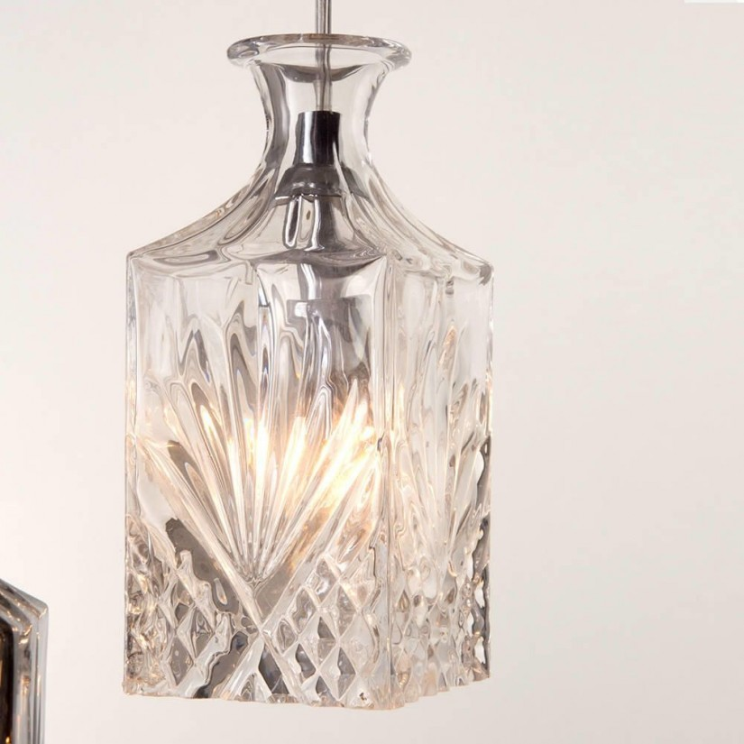 Glass Chandelier Shades | Replacement Chandelier Glass Lamp Shades | Amber Glass Shade Replacement